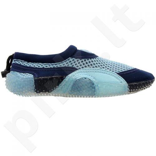 Sportiniai bateliai  plażowe neoprenowe Aqua-Speed Jr mėlynase