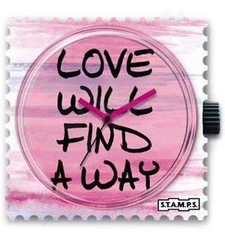 Laikrodis-magnetukas S.T.A.M.P.S.  WAY OF LOVE