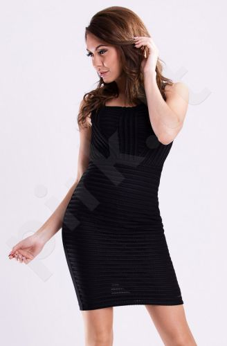 Emamoda suknelė - juoda 12017-2