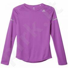 Marškinėliai bėgimui  Adidas Sequencials Climalite Longsleeve Tee W AX7510
