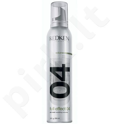 Redken Full Effect 04 plaukų putos, 250ml, kosmetika moterims
