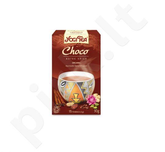 Šokoladinė arbata YOGI TEA, 17 vnt