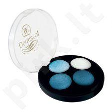 Dermacol Quattro Baked akių šešėliai, kosmetika moterims, 5g, (5)