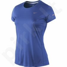 Marškinėliai bėgimui  Nike Miler Crew Top W 519829-480