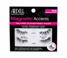 Ardell Magnetic Accents, Accents 002, dirbtinės blakstienos moterims, 1pc, (Black)