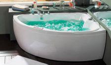 Masažinė vonia B1712 kairinė su oro ir hidromasažu