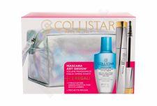 Collistar Art Design, rinkinys blakstienų tušas moterims, (blakstienų tušas 12 ml + Gentle Two Phase 50 ml + kosmetika krepšys), (Extra Black)