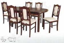 Stalas WENUS-P III + 6 kėdės BOSS VI