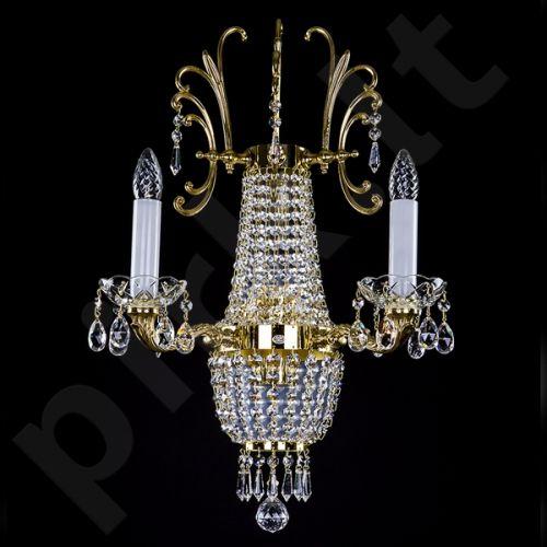 Sieninis šviestuvas krištolinis 224-CHERYL 390x600 WL