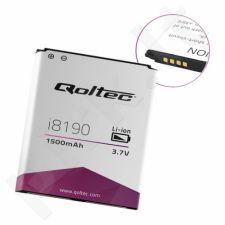 QOLTEC Battery for Samsung Galaxy S3 mini i8190, Ace2 i8160 | 1500mAh