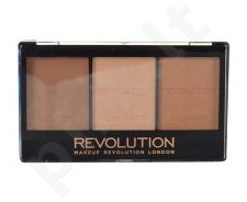 Makeup Revolution London Ultra Sculpt & Contour Kit, veido modeliavimo paletė, kosmetika moterims, 11g, (C04 Ultra Light/Medium)