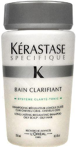 Kerastase Specifique Bain Clarifiant LongLasting Shampo Oily, kosmetika moterims, 250ml