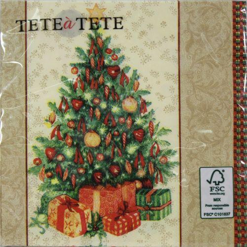 Servetėlės Tat Christmas Symbol