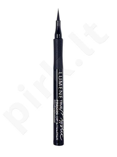 Lumene True Mystic Precise Tip akių kontūrų priemonė, kosmetika moterims, 1,0ml, (01 Mystic Black)