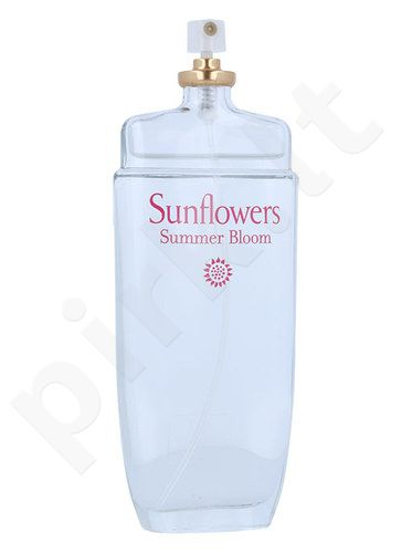 Elizabeth Arden Sunflowers Summer Bloom, EDT moterims, 100ml, (testeris)