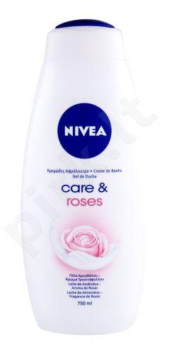 Nivea Care, & Roses, dušo kremas moterims, 750ml