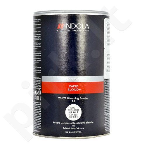 Indola Profession Rapid Blond+ White Bleaching pudra, kosmetika moterims, 450g
