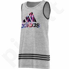 Marškinėliai Adidas Wardrobe Style Tank Junior S21612