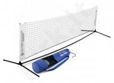 Lauko teniso tinklas mini, 3m, mobilus, su dėklu