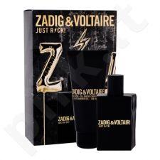 Zadig & Voltaire Just Rock!, rinkinys tualetinis vanduo vyrams, (EDT 50 ml + dušo želė 100 ml)