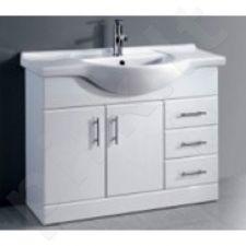 Vonios kambario spintelė su praustuvu D105