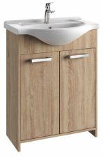Vonios kambario spintelė su praustuvu 6505 D65 dab. son.