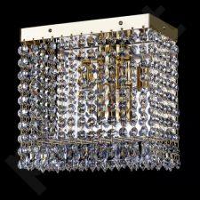 Sieninis šviestuvas krištolinis 224-FIDELIE 220x220 WL