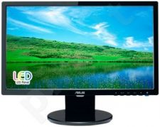 Monitorius Asus VE198S 19'' LED, wide, 5ms, Juodas, Garsiakal.