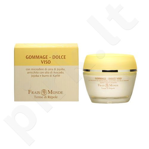 Frais Monde Natural Mild Face Scrub, kosmetika moterims, 50ml
