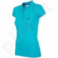 Marškinėliai polo 4F W T4L16-TSD003 turkio spalvos