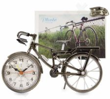 Laikrodis Dviratis su rėmu