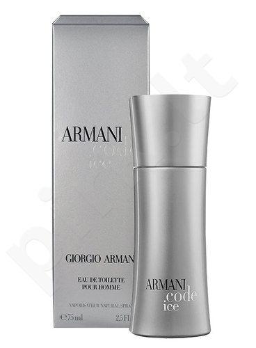 Giorgio Armani Code Ice, tualetinis vanduo vyrams, 50ml