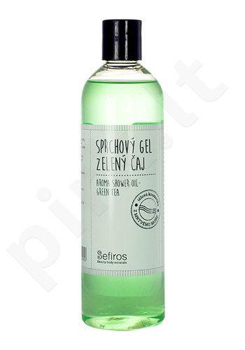 Sefiros Aroma Shower Oil Green Tea, kosmetika moterims, 400ml