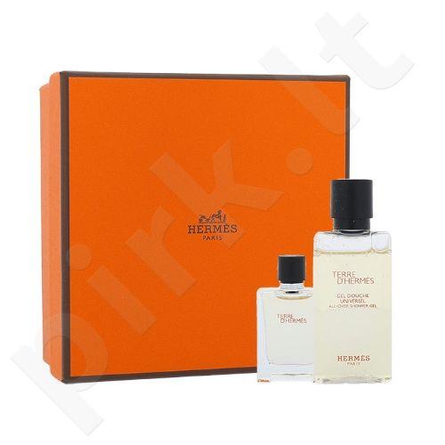 Hermes Terre D Hermes rinkinys vyrams, (EDT 5 ml + dušo želėl 40 ml)