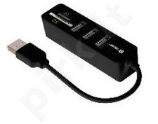 Kortelių skaitytuvas Tracer All-In-One CH4+ HUB USB 2.0