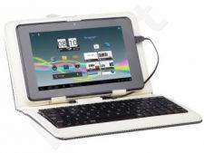 Dėklas Tracer 7' Walker Baltas + micro USB klaviatūra