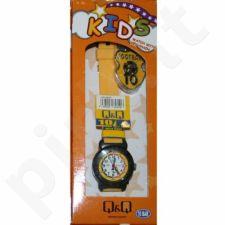 Vaikiškas, Moteriškas laikrodis Q&Q VP81S805Y