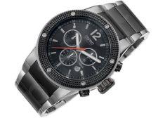 Esprit EL101281F05 Anteros Black vyriškas laikrodis-chronometras