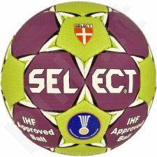 Rankinio kamuolys Select Solera 1 violetinė-žalio atspalvio