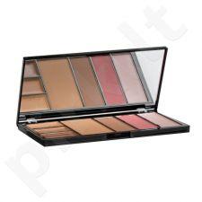 Makeup Revolution London makiažo paletė, kosmetika moterims, 22,7g, (Medium/Dark)