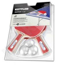 Stalo teniso rink. MATCH 1 žv. 2 raketės+3 kamuol.