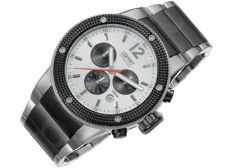 Esprit EL101281F06 Anteros Silver vyriškas laikrodis-chronometras