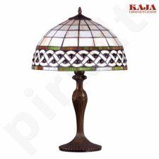 Vitražinė stalinė lempa K-G162208