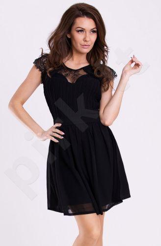 Emamoda suknelė - juoda 12001-1