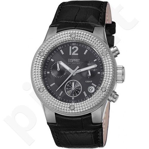 Esprit EL101282F01 Anteress Black moteriškas laikrodis-chronometras