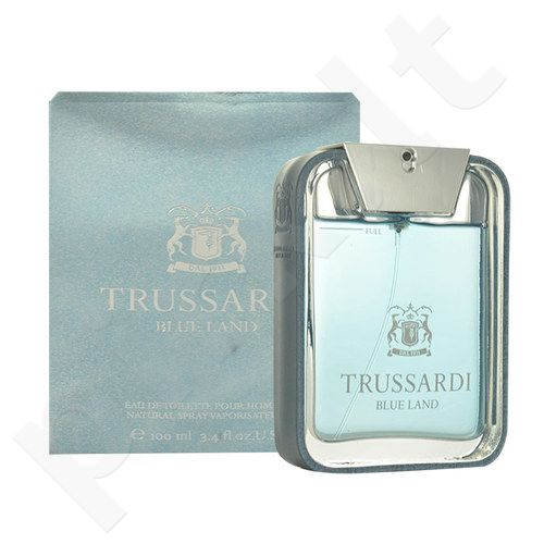 Trussardi Blue Land, EDT vyrams, 100ml