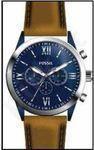 Laikrodis FOSSIL  BQ2152 vyriškas kvarcinis chronografas