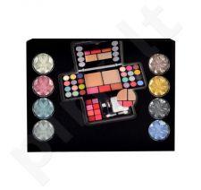 Makeup Trading Diamonds Set rinkinys moterims, (13,44g akių šešėliai + 4,8g skaistalai + 14,4g veido pudra + 3,2g lūpdažis)