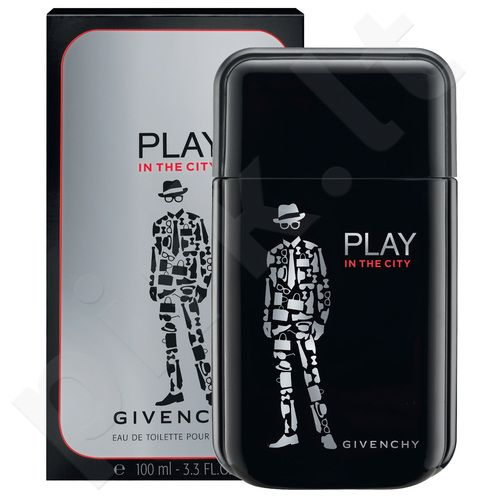 Givenchy Play In The City, EDT vyrams, 100ml