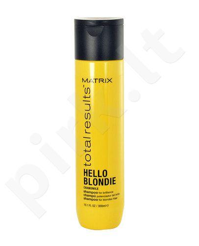 Matrix Total Results Hello Blondie Chamomile šampūnas, kosmetika moterims, 300ml